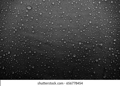 Water drops on the fabric