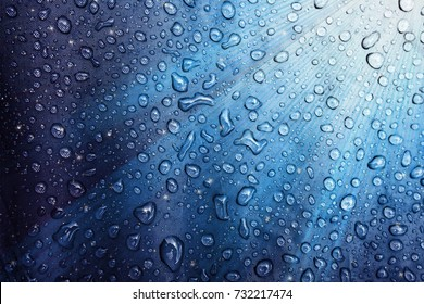 Water drops on the fabric. Abstract background