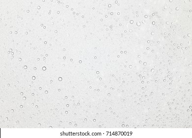 Water drops on glass, Rain droplets on glass background.