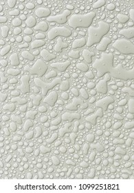 Water drops on the tile