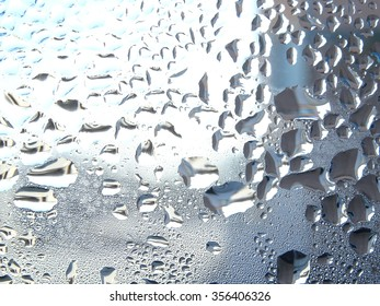 Water Drops on Window