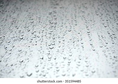 Water drops on the window, abstract background