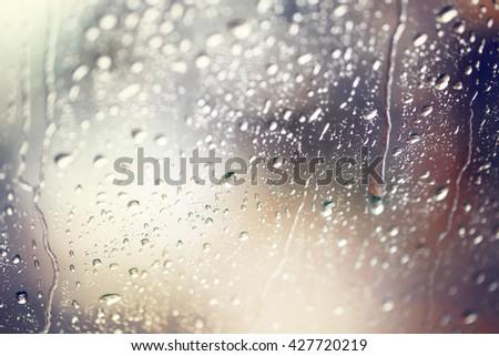 rainy day composition