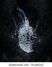 water explosion from balloon