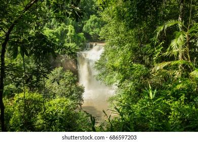 water fall at Khao Yai national park, Thailand