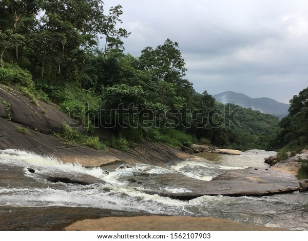 Water falls near araku valley