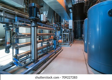 Water filters in the power station