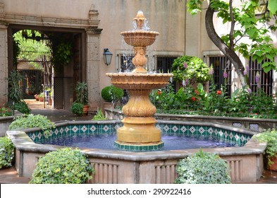 Water Fountain in court yard