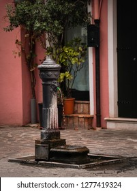 water fountain in Italy