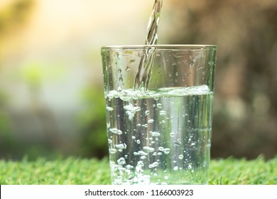 water of glass