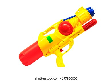 Water gun isolated on white background