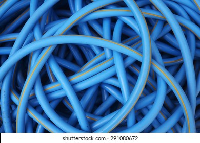 water hose background.