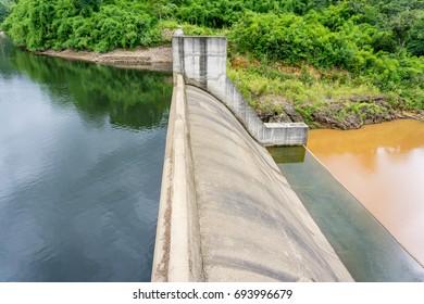 Water in hydroelectric powerplan