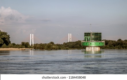 water intake in Warsaw on the Vistula