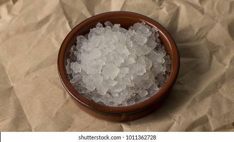 Water kefir grains.