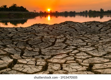 Water is life. Arid season Water is life. Dry season. Background drought water shortage.Cracked land without water