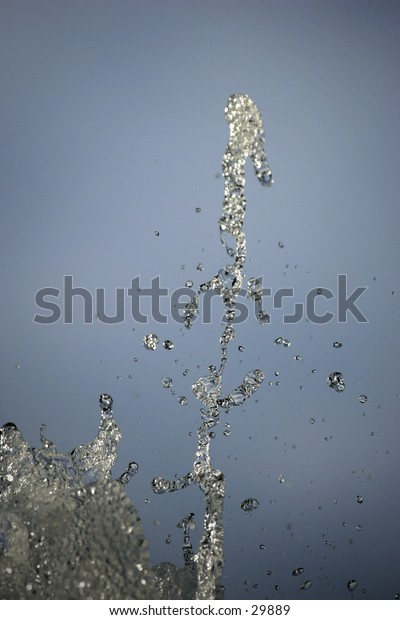 water in light