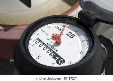 Water Meter Gauge