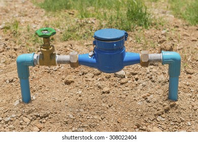 water meter and valve isolate