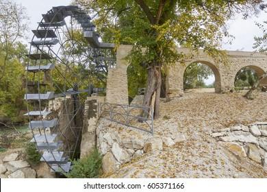 Water mill the Agusadera in Cuevas Bajas, Malaga. Spain