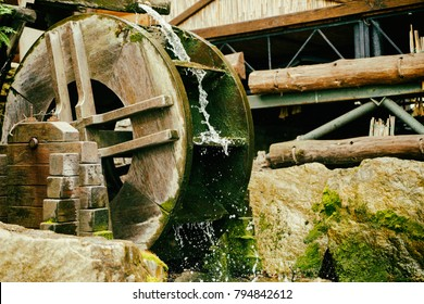 Water mill background