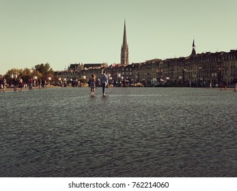 Water Mirror - Place de la Bourse - Bordeaux - France