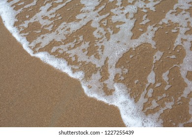 Water over sand
