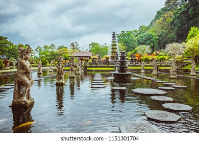 Water Palace of Tirta Gangga in East Bali.