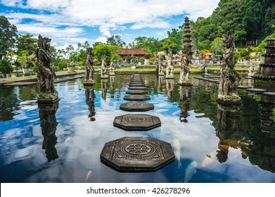 Water Palace of Tirta Gangga in East Bali, Karangasem, Indonesia