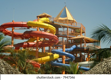 A water park