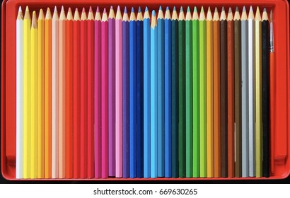 Water pencil.