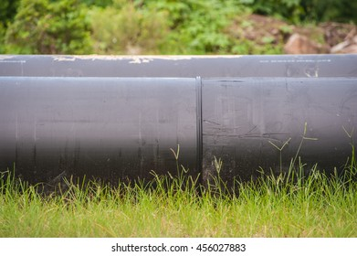 Water pipe pile pipeline to carry water.