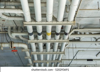 Water pipe system. Pumping systems for industrial plants. Construction work.Installation of water pipes in the building.Water pipe system within the building.Maintenance of drainage pipes.