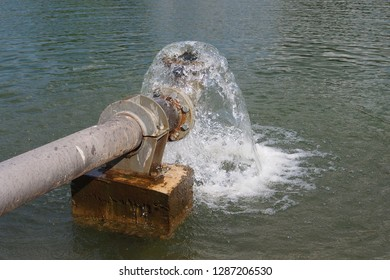 Water pipeline system in nature