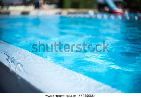 Water pool surface