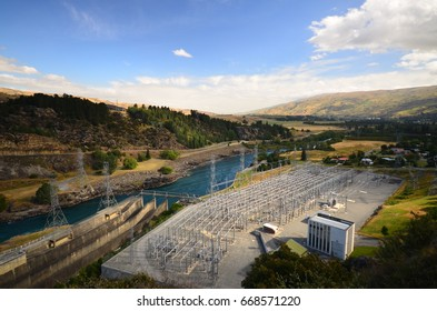 Water power plant in New Zealand