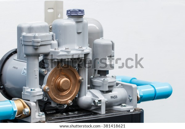 Water Pump Outdoor House Stock Photo (Edit Now) 381418621