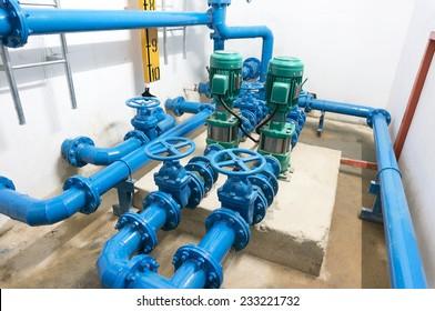 water pump room