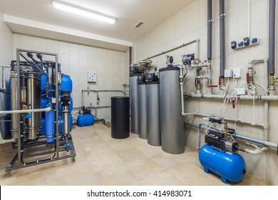 Water purification sistems for houses