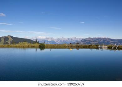 Water Reservoir Lake At Schmitten In Zell am See