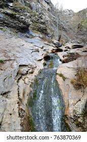 Water in rock