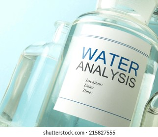 Water sample for testing
