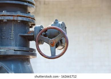 water shutoff valve on Three Gorges Dam in China