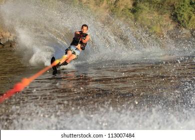 water skiing in parker arizona