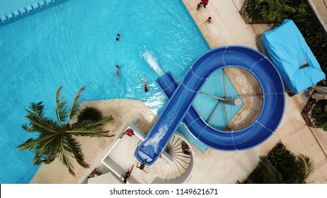 Water Slide, areal view