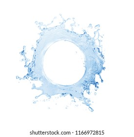 Water splash,water splash isolated on white background,wate