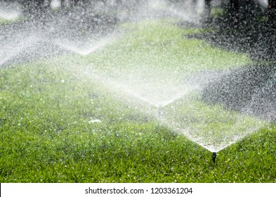 Water sprinkler irrigation