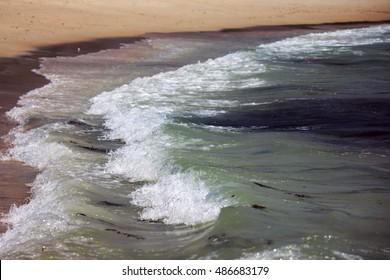 water at St John island