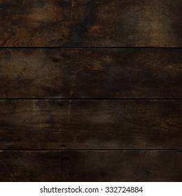 Water Stained Horizontal Wood Floor