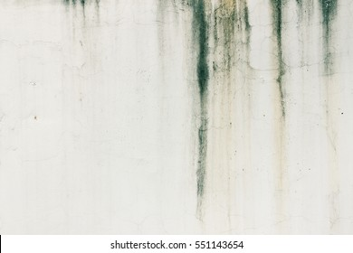 Water stains on the wall